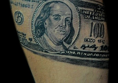 dollar-tattoo