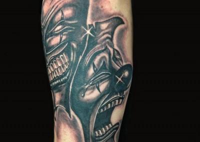 happy-sad-tattoo
