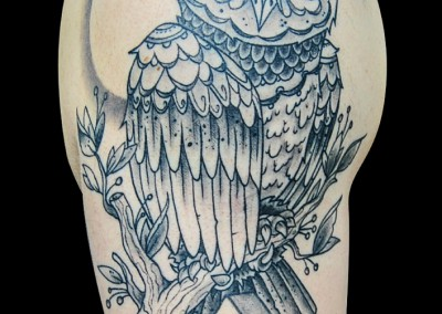hipster-owl-tattoo